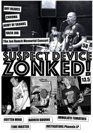 Fanzine Of The Week – Suspect Device / Zonked