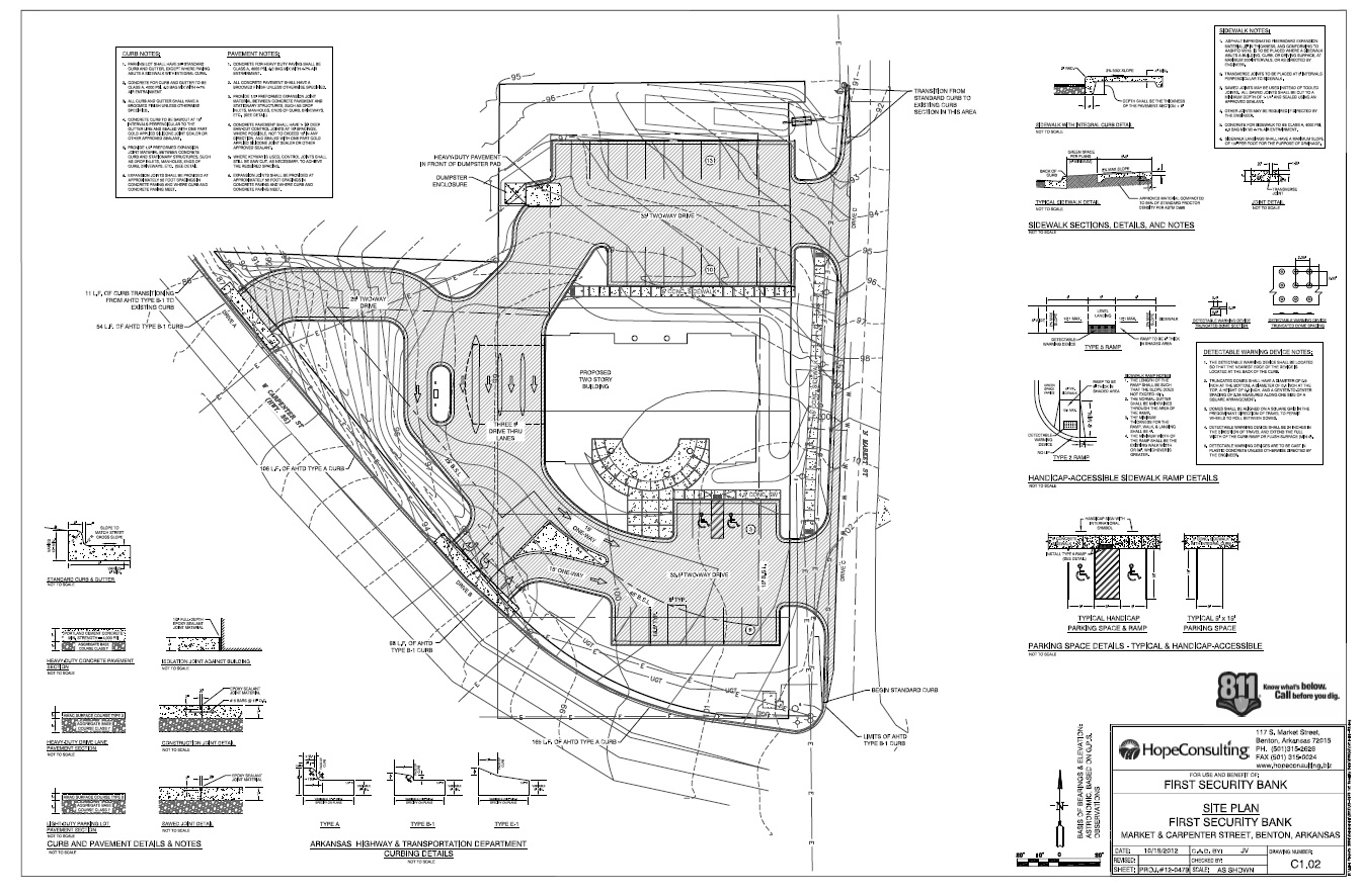 Site Plan Design| Hope Consulting: Civil Engineers, Land