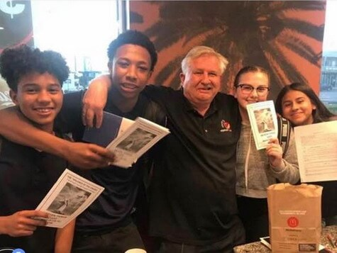 hope for homeless youth high school outreach