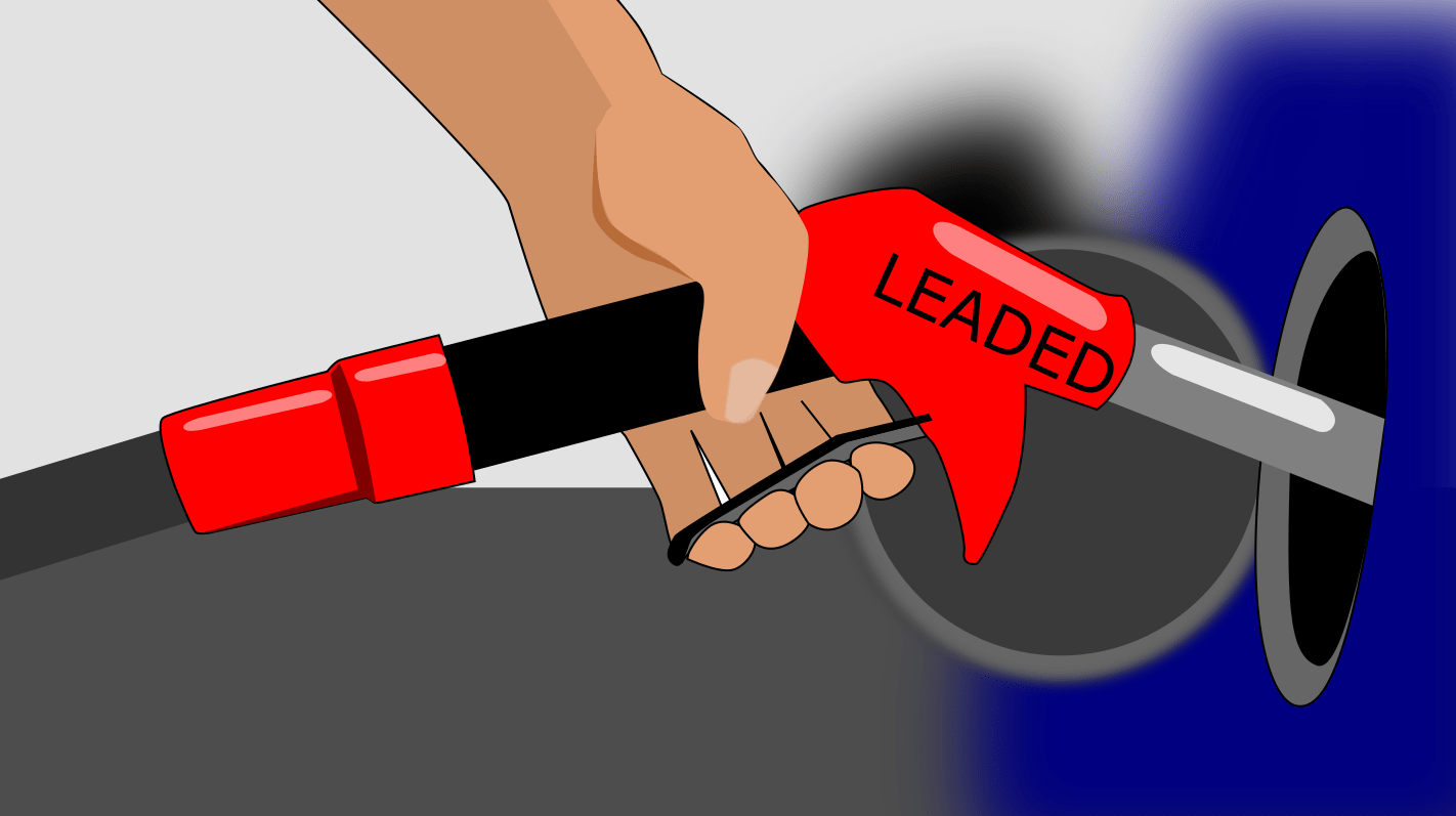 Leaded petrol isn't sold anymore because it caused so much lead poisoning