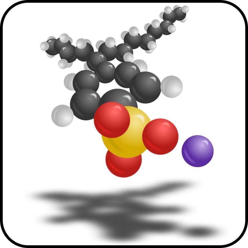 Linear Alkylbenzene Sulfonate Structure
