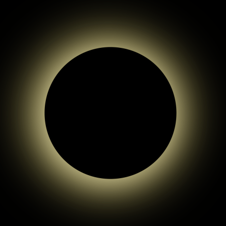 The Sun's Corona as you'll see in pictures of a solar eclipse