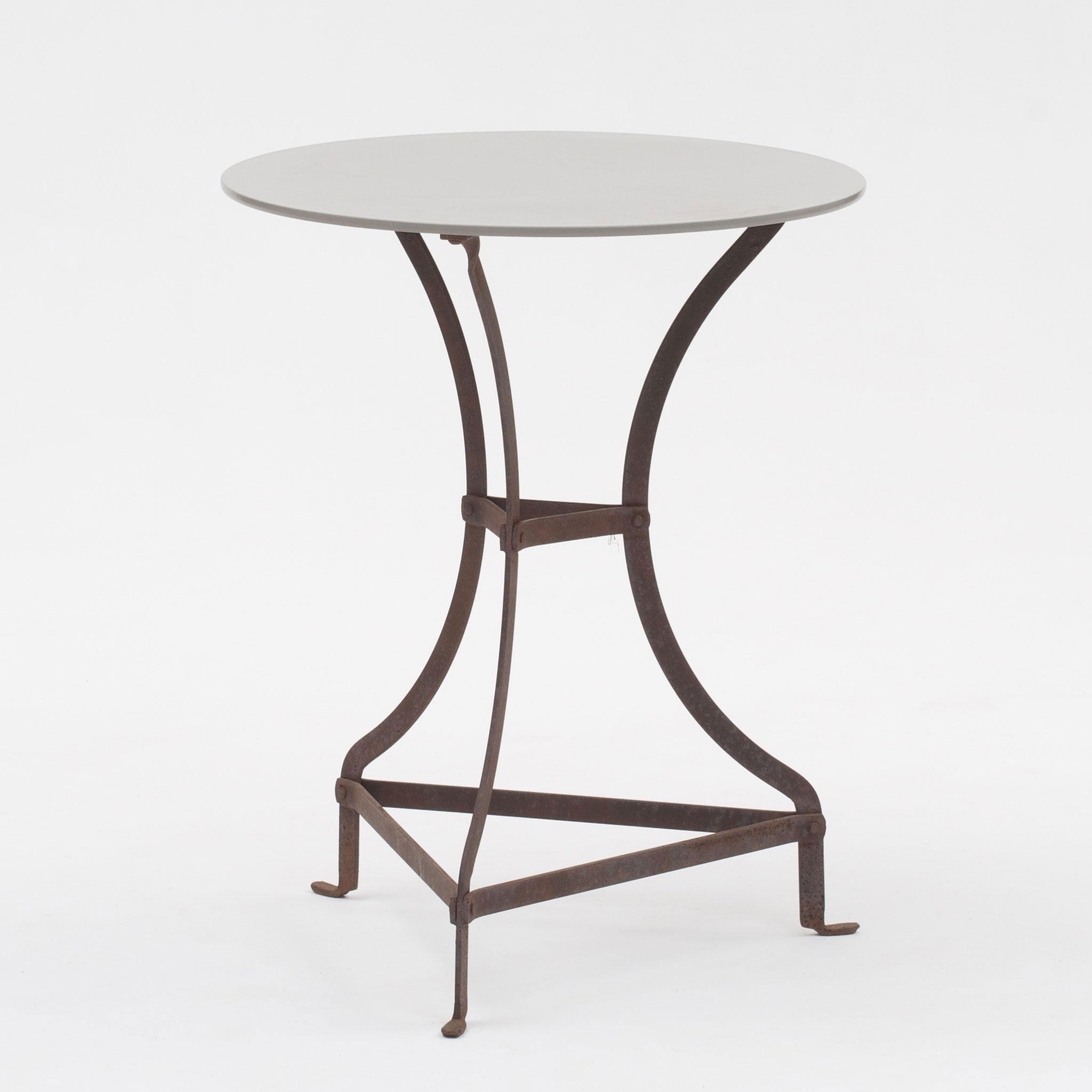 Caf 233 Table Metal Hope Garden Furniture