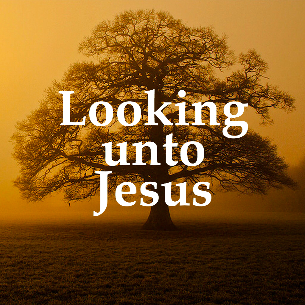 Image result for LOOKING UNTO JESUS""