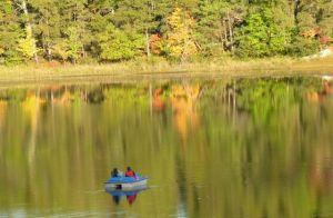 Paddle Boat on Lake