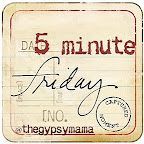 five minute friday: visit