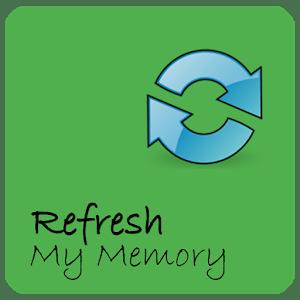 Refresh my memory