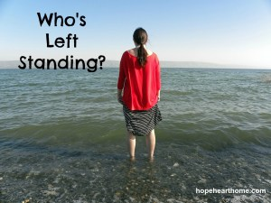 who's left standing?