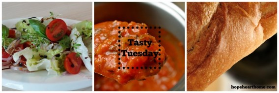 Tasty Tuesday Italian Veg Soup