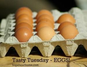 tasty tuesday: eggs!