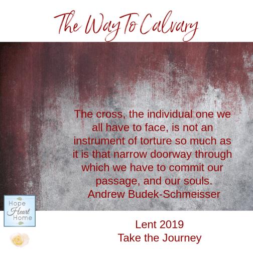 The Way To Calvary