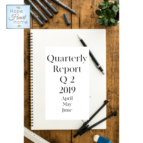 Quarterly Report Q2