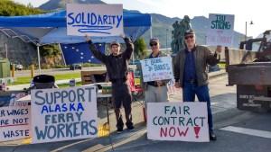 Ferry Strike - Valdez AK