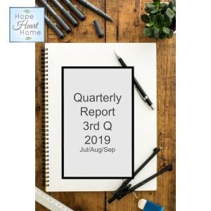 3rd Q 2019 Report