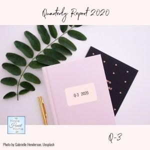 Quarterly Report Q3 2020
