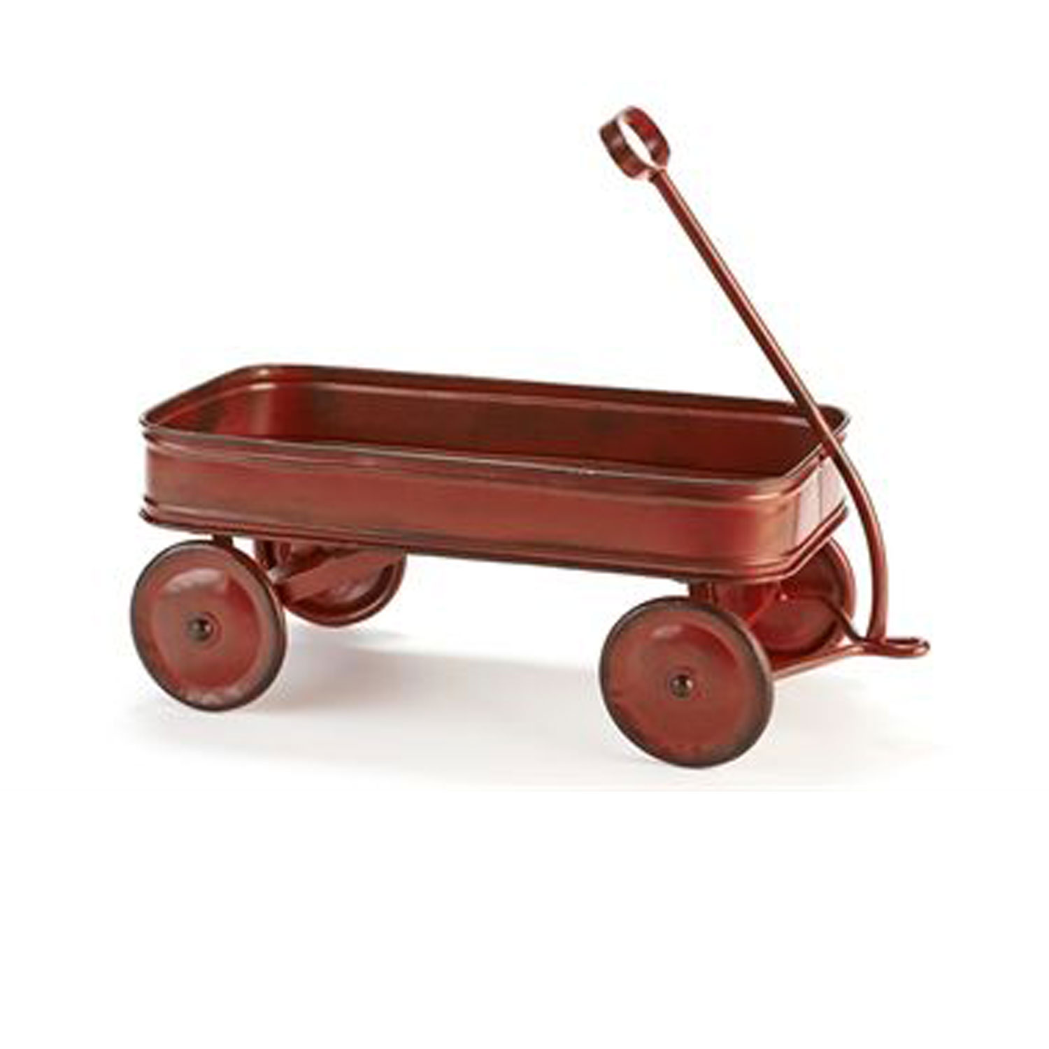 Giftcraft 083599 Antique Red Wagon Table Decor Hope