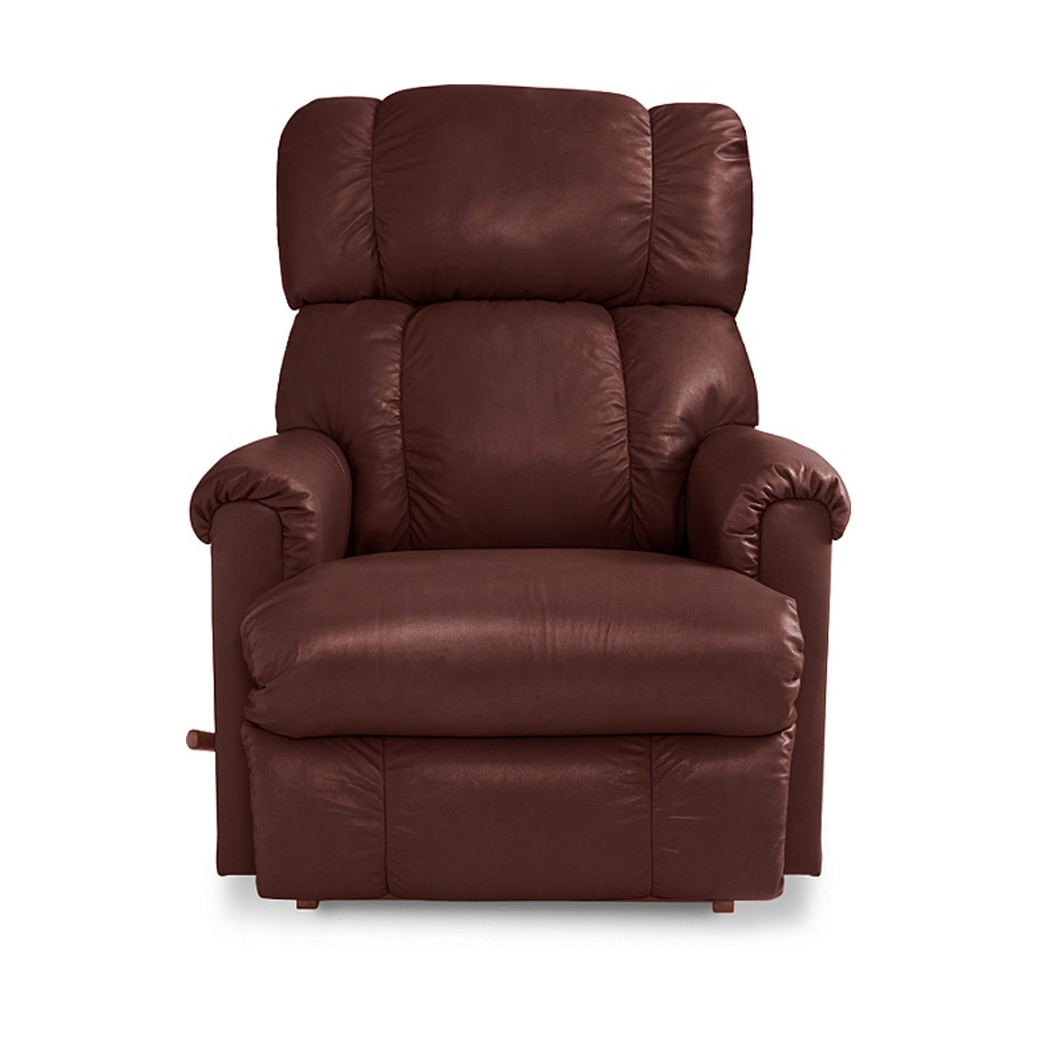 lazy boy chairs reclining beach portable leather recliner la z furniture reese