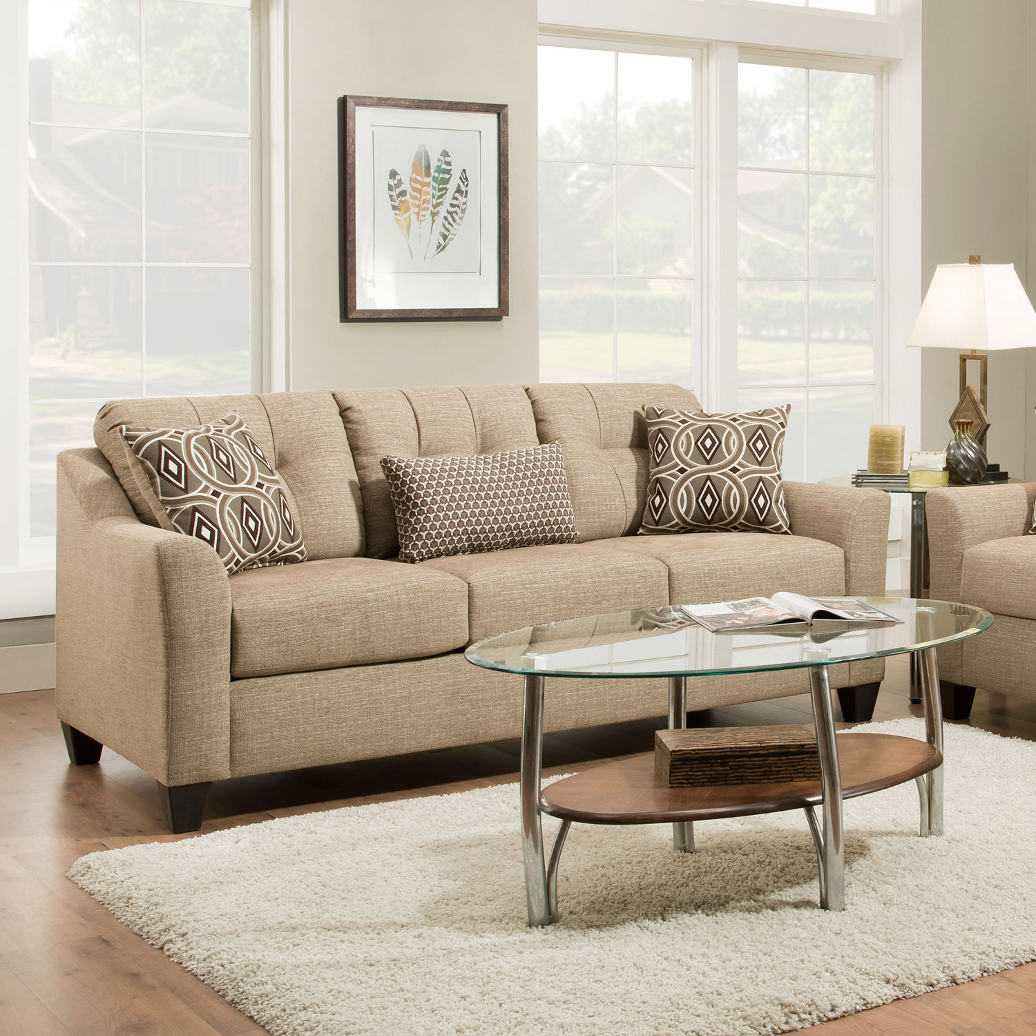 omaha sofa for sale by owner black leather studded simmons 4315s national husk stationary hope home