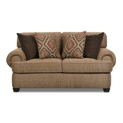 Love Seat Sofa Bed Comfortable Sectional Simmons Beautyrest 7533brls Shelby Multi Stationary ...