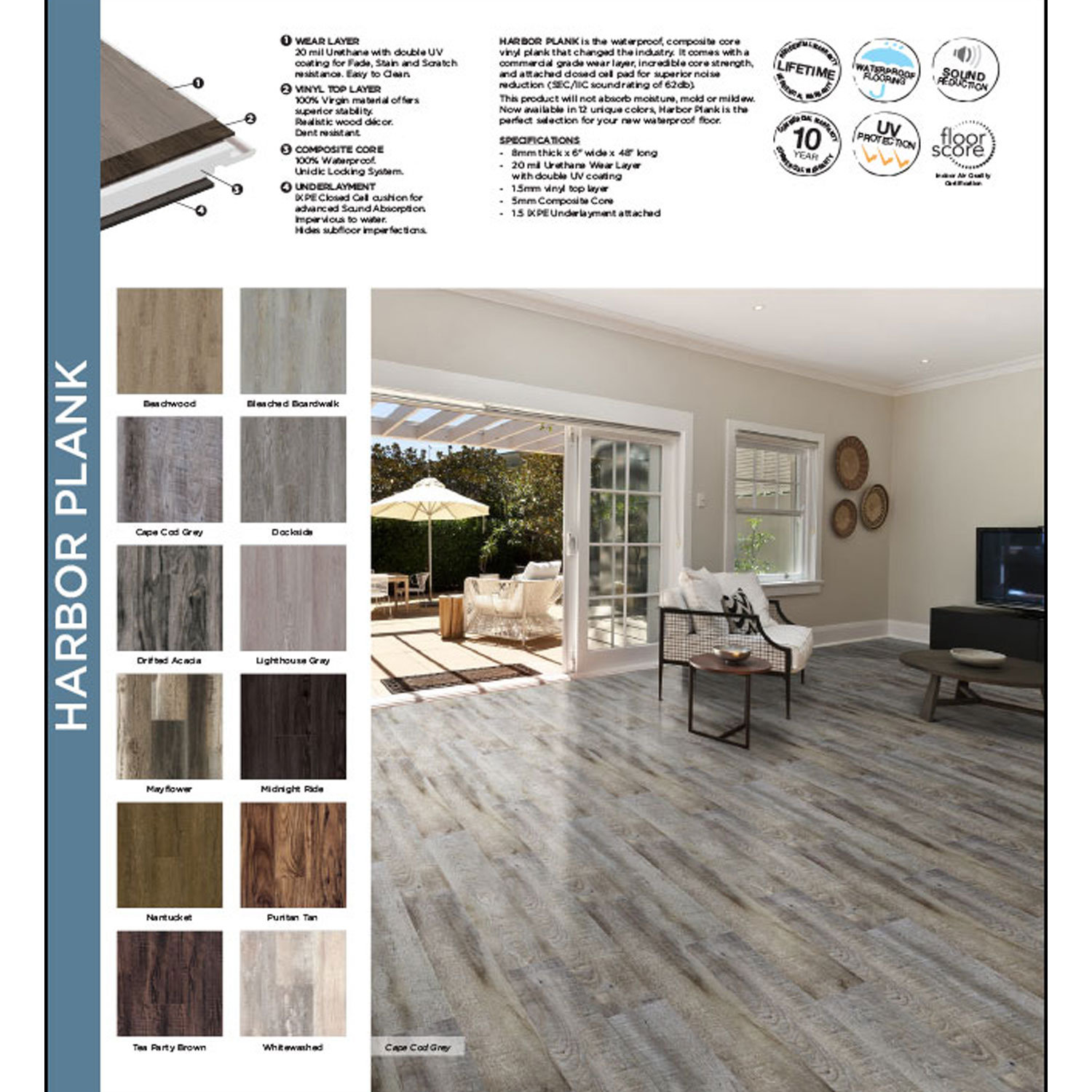 Southwinds Harbor Plank Hope Home Furnishings And Flooring