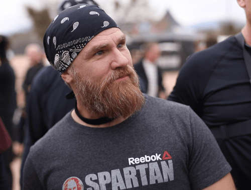 Chris Bartz at a Spartan race