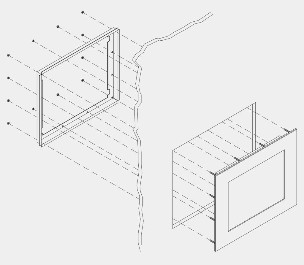 Monitor de montaje en panel y pantalla táctil industrial