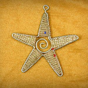 Star beaded Ornament