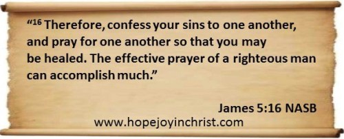 James 5 16