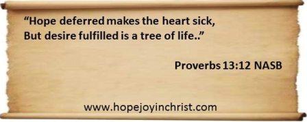 Proverbs 13 12