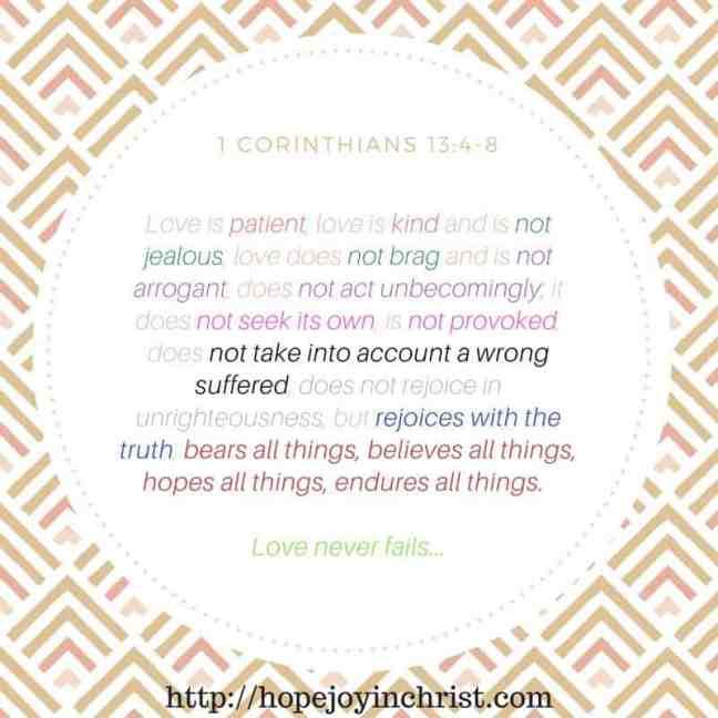 1 Corinthians 13 Marriage Monday