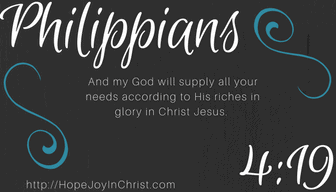 Philippians 4:19 God will provide for our needs even Homeschool Needs