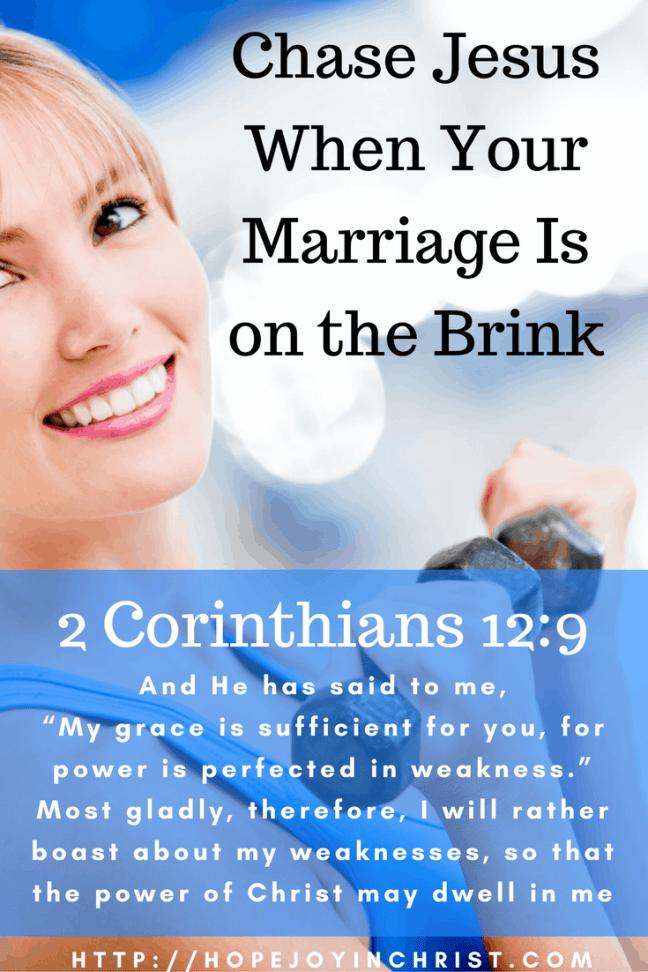 2 Corinthians 12:9 God's Grace when I am weak (Christian Marriage, Biblical Wifehood (Reclaiming Hope & Joy in your Marriage))