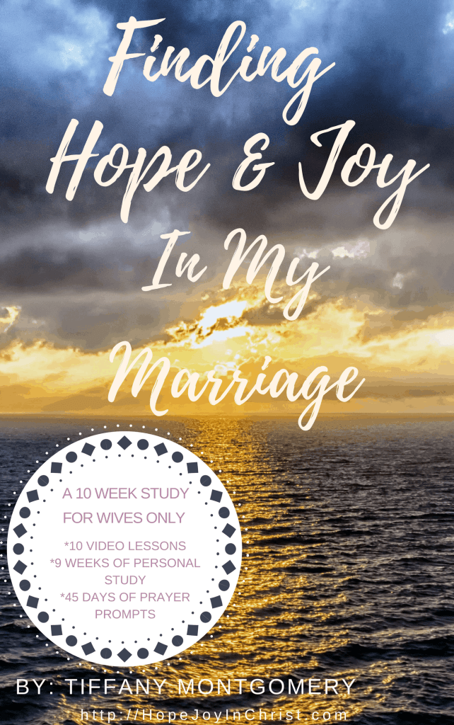Finding Hope & Joy in My Marriage (e-course #ChristianMarriage #BiblicalMarriage #BiblicalWifehood)
