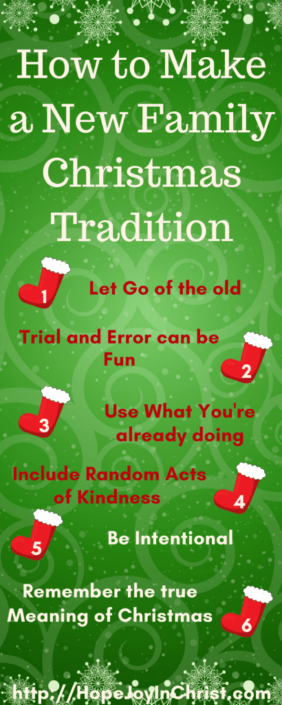 How to Make a New Family Christmas Tradition LongPinIt (#Advent #ChristianChristmas #ChristmasTraditions #RandomActsOfKindness)