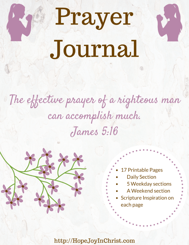 Prayer Journal PinIt #bibleJournaling #prayerJournal #PrayerJournaling #PrayerTools #ChristianLiving