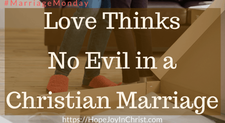 Love Thinks No Evil In a Christian Marriage FtImg #1Corinthians13 #SelflessLove #SelflessLove #SelflessLoveRelationships #SelflessLoveMarriage #Forgiveness #ForgivenessInMarriage #RespectinMarriage #ChristianMarriageadvice #Relationshipquotes #Relationshipadvice #ChristianMarriage #BiblicalMarriage #BiblicalWorldview