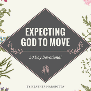 Expecting God to Move Does God ever feel far away? Do you feel like you're in a constant struggle? Break the cycle! Expect Jesus to show up to the party of your life, and see Him really move! This devotional will walk you through a journey to invite Jesus into every single part of your life! #Giveaway #ChristianBooks #BibleStudy #ChristianMarrigae #JoyInMarriage