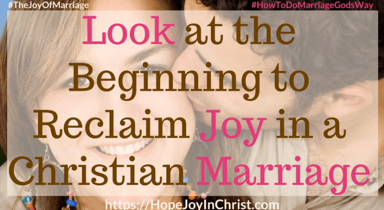 Look at the Beginning to Reclaim Joy in a Christian Marriage FtImg #RememberWhen #RememberWhenquotes #RememberWhenlove #lookBack 31 Ways to Reclaim Joy in a Christian Marriage #JoyInMarriage #MarriageGodsWay #JoyQuotes #JoyScriptures #ChooseJoy #ChristianMarriage #ChristianMarriagequotes #ChristianMarriageadvice #RelationshipQuotes #marriagegoals #HappyWifeLife #MarriedLife #BiblicalMarriage