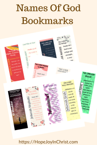 Names Of God Bookmarks PinIt #ChristianLiving #TheJoyOfTheLordIsMyStrength #prayerWarrior #JoyPrayer #PrintableBookmarks #NamesOfGodPrintable #NamesOfGodStudy #NamesOfGodList #PrayThroughNamesOfGod
