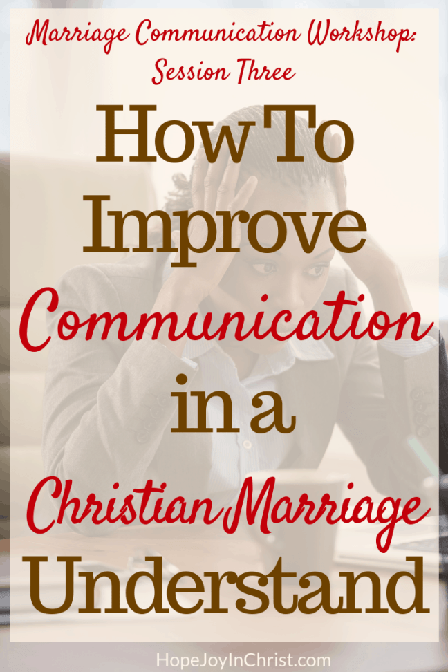 How To Improve Communication in a Christian Marriage: understand the power of negative thoughts. This is session Three in the marriage communication workshop where couples will learn marriage communication tools be guided through communication exercise, given advice to help with better communication. Wives will learn to improve intimacy while keeping their voice and stop feeling like a door mat in a Christian marriage.