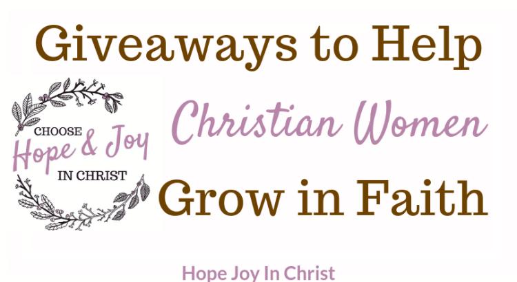 Giveaways - Hope Joy in Christ