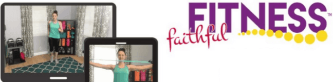 Faithful Fitness Christian fitness program - live streaming exercises