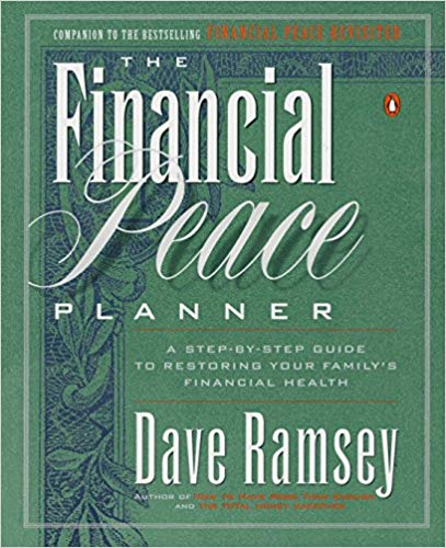 Financial Peace Planner book