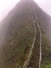 How to Hike the Haiku Stairs in Hawaii - Hopelessly Wild
