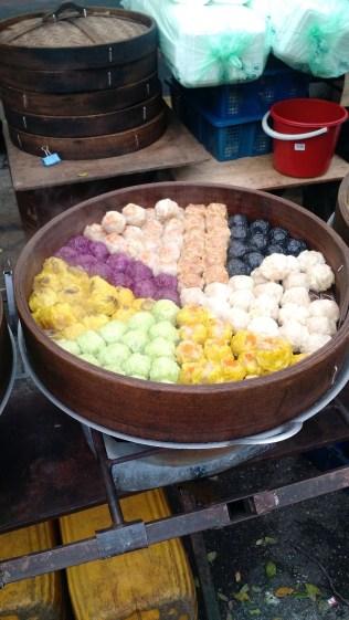 Colorful dim sum