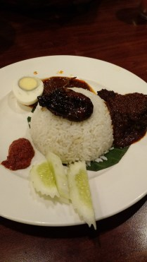 Fish Nasi Lamak