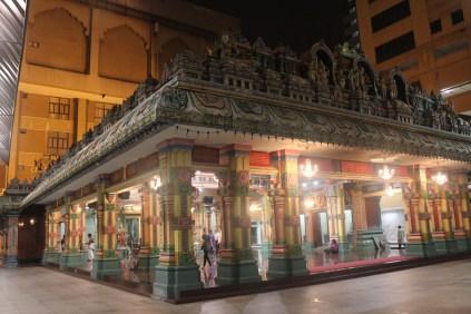 Inside Sri Maha Marriamman Temple