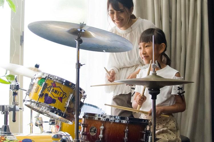 キッズドラム教室の写真