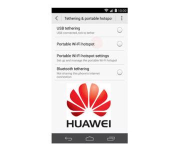Huawei Honor 6X WiFi Hotspot Setup