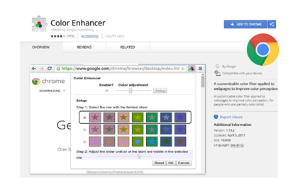 Color Enhancer Extension